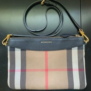 Burberry Peyton House Check Crossbody Bag